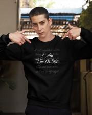 i am the militia merch Crewneck Sweatshirt apparel-crewneck-sweatshirt-lifestyle-04