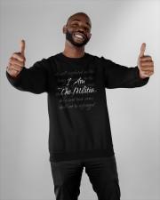 i am the militia merch Crewneck Sweatshirt apparel-crewneck-sweatshirt-lifestyle-front-05