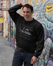 i am the militia merch Crewneck Sweatshirt lifestyle-unisex-sweatshirt-front-4
