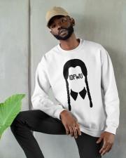 idfwu merch Crewneck Sweatshirt apparel-crewneck-sweatshirt-lifestyle-front-08