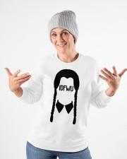 idfwu merch Crewneck Sweatshirt apparel-crewneck-sweatshirt-lifestyle-front-35