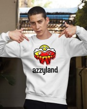 azzyland merch Crewneck Sweatshirt apparel-crewneck-sweatshirt-lifestyle-04