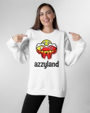 azzyland merch Crewneck Sweatshirt apparel-crewneck-sweatshirt-lifestyle-front-11