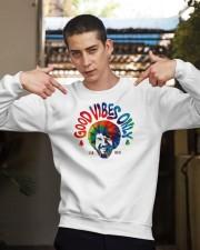 good vibes only merch Crewneck Sweatshirt apparel-crewneck-sweatshirt-lifestyle-04