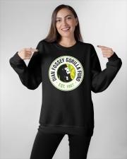 dian fossey gorilla fund merch Crewneck Sweatshirt apparel-crewneck-sweatshirt-lifestyle-front-11
