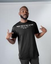 meet me the altar t shirt Classic T-Shirt apparel-classic-tshirt-lifestyle-front-32