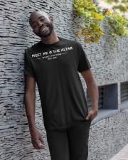 meet me the altar t shirt Classic T-Shirt apparel-classic-tshirt-lifestyle-front-33