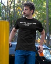 meet me the altar t shirt Classic T-Shirt apparel-classic-tshirt-lifestyle-front-44