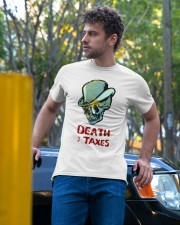 death taxes oral t shirt Classic T-Shirt apparel-classic-tshirt-lifestyle-front-44