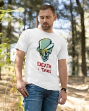death taxes oral t shirt Classic T-Shirt apparel-classic-tshirt-lifestyle-front-49