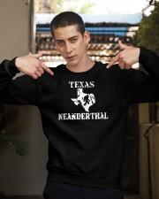 Texas Neanderthal merch Crewneck Sweatshirt apparel-crewneck-sweatshirt-lifestyle-04