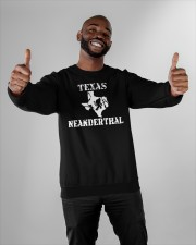Texas Neanderthal merch Crewneck Sweatshirt apparel-crewneck-sweatshirt-lifestyle-front-05