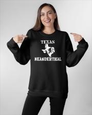 Texas Neanderthal merch Crewneck Sweatshirt apparel-crewneck-sweatshirt-lifestyle-front-11