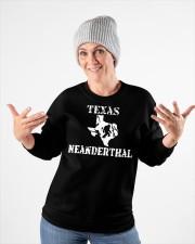 Texas Neanderthal merch Crewneck Sweatshirt apparel-crewneck-sweatshirt-lifestyle-front-35