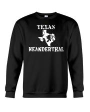 Texas Neanderthal merch Crewneck Sweatshirt front