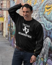 Texas Neanderthal merch Crewneck Sweatshirt lifestyle-unisex-sweatshirt-front-4