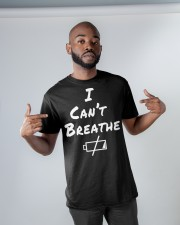 i can't breathe i have no energy Classic T-Shirt apparel-classic-tshirt-lifestyle-front-32