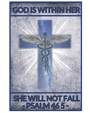 Nurse god is within her 11x17 Poster front