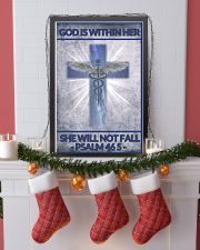 Nurse god is within her 11x17 Poster lifestyle-holiday-poster-4