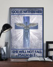 Nurse god is within her 11x17 Poster lifestyle-poster-2