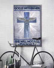 Nurse god is within her 11x17 Poster lifestyle-poster-7