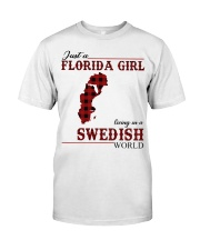 Just An Florida Girl In Swedish Classic T-Shirt front