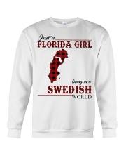 Just An Florida Girl In Swedish Crewneck Sweatshirt thumbnail