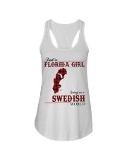 Just An Florida Girl In Swedish Ladies Flowy Tank thumbnail