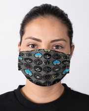 fly  lover Cloth Face Mask - 5 Pack aos-face-mask-lifestyle-01