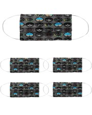fly  lover Cloth Face Mask - 5 Pack front
