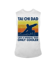 Tai Chi Dad Like A Normal Dad Only Cooler Sleeveless Tee thumbnail