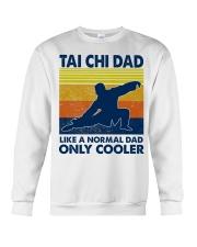 Tai Chi Dad Like A Normal Dad Only Cooler Crewneck Sweatshirt thumbnail