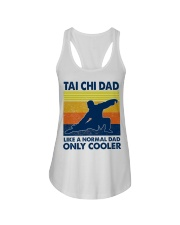 Tai Chi Dad Like A Normal Dad Only Cooler Ladies Flowy Tank thumbnail