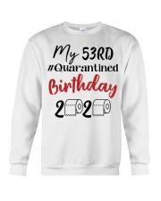 53rd Birthday 53 Year Old Crewneck Sweatshirt thumbnail