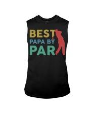 Best Papa By Par Sleeveless Tee tile