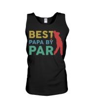 Best Papa By Par Unisex Tank tile