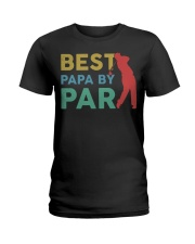 Best Papa By Par Ladies T-Shirt tile