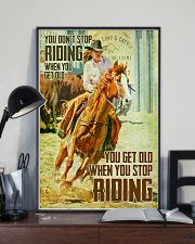 YOUR DONT GET OLD  24x36 Poster lifestyle-poster-2