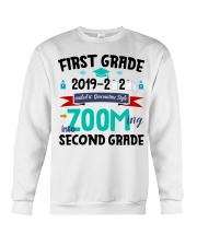 FIRST GRADEN ZOOMING INTO  SECOND GRADE Crewneck Sweatshirt thumbnail