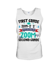 FIRST GRADEN ZOOMING INTO  SECOND GRADE Unisex Tank thumbnail