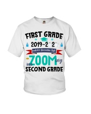 FIRST GRADEN ZOOMING INTO  SECOND GRADE Youth T-Shirt thumbnail
