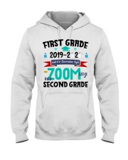 FIRST GRADEN ZOOMING INTO  SECOND GRADE Hooded Sweatshirt thumbnail