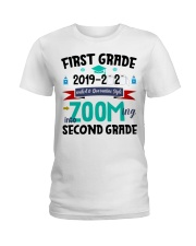 FIRST GRADEN ZOOMING INTO  SECOND GRADE Ladies T-Shirt thumbnail