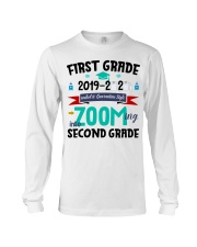 FIRST GRADEN ZOOMING INTO  SECOND GRADE Long Sleeve Tee thumbnail