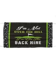 I'm On The Back Nine Golf Mask tile