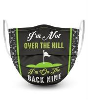 I'm On The Back Nine Golf Masks tile