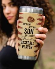 Baseball Personalized Christmas Gift 20oz Tumbler aos-20oz-tumbler-lifestyle-front-93