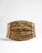 We shall every one be mask'd Cloth face mask aos-face-mask-lifestyle-22