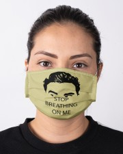 Stop Bearthing On Me Cloth face mask aos-face-mask-lifestyle-01