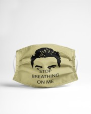 Stop Bearthing On Me Cloth face mask aos-face-mask-lifestyle-22